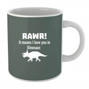 By IWOOT Rawr It Means I Love You in Dinosaur mok
