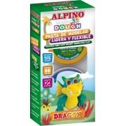 Kit 4 culori plastelina magica, ALPINO Dragon