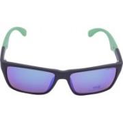Miami Blues Wayfarer Sunglasses(Blue)
