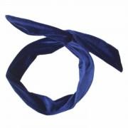 Headband Velvet Blue - Accessoires