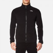 The North Face Men's 100 Glacier Full Zip Fleece - TNF Black - XL