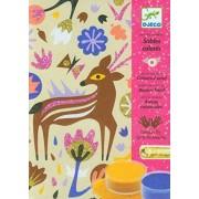 Djeco Dj08662 Colored Sands Woodland Wonderland Playset