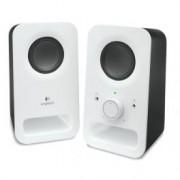 Logitech Altavoces para PC estéreo Logitech Z150 Blanco