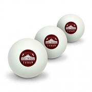 Santa's Workshop Logo Christmas Toys North Pole Alaska Novelty Table Tennis Ping Pong Ball 3 Pack