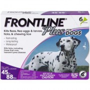 Frontline Plus 6pk Dogs 45-88 lbs by MERIAL