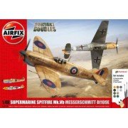 Airfix kit constructie avioane supermarine spitfire mk. vb si messerschmitt bf109e-7