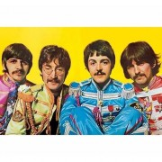 Merkloos Poster The Beatles Lonely Hearts Club 61 x 91 cm - Action products