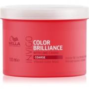 Wella Professionals Invigo Color Brilliance máscara por cabelos grossos pintados 500 ml