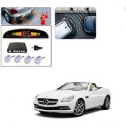 Auto Addict Car Silver Reverse Parking Sensor With LED Display For Mercedes Benz SLK-Class