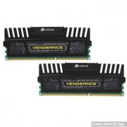 DDR3, KIT 16GB, 2x8GB, 1600MHz, CORSAIR Vengeance™, Black, CL9 (CMZ16GX3M2A1600C9)
