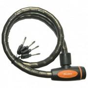Master Lock - Kabelschloss 8228 PanzR - Fietsslot maat 18 x 1000 mm dunkelgrau