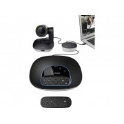 Logitech GROUP Full HD-webcam 1920 x 1080 pix Standvoet