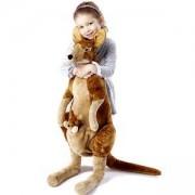 Голяма плюшена играчка - Кенгуру с бебе, 18834 Melissa and Doug, 000772188340