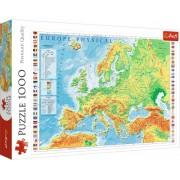 Trefl Puzzle Slagalica Physical map of Europe1000 kom (10605)