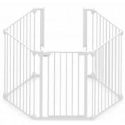 Noma 5-Panel Safety Gate Modular Metal White 94047
