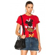 Victoria Beckham Cotton Jersey Minnie Mouse Tee in Red. - size 3 (also in 2)