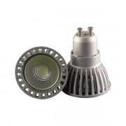 LED lámpa , égő , szpot , GU10 foglalat , 6 Watt , 50° , természetes fehér , dimmelhető