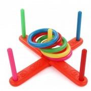 Kids Fun Game Classic Intelligentie Educatief Speelgoed Baby Stapelen Ringen Kinderen Ring Toss Cast Gooi Cirkel Set Speelgoed
