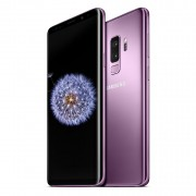 Samsung Galaxy S9 Plus G965FD Dual Sim 4G 64GB with 32GB Micro SDHC Memory Card with SD Adapter - Lilac Purple