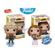 Set Ochaco Y Katsuki My Hero Academia Funko Pop Original 2017