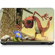 VI Collections ANIMATED DRAGON pvc Laptop Decal 15.6