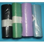 450 x 500 mm-es (45 x 50 cm-es) (20 l) húzózáras/zárószalagos szemetesbélelő zsák