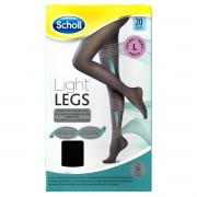 Reckitt Benckiser Scholl Light Legs Collant velate 20 denari compressione media colore nero taglia L