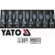 "Set chei tubulare lungi de impact prindere 3/8"" Yato"