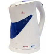 Singer SKT170BWT Electric Kettle(1.7 L, White, Blue)