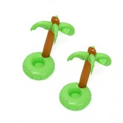 Rishil World 2PCS Inflatable Coconut Water Drink Coke Cup Holder Mobile Phone Holder Inflatable Toys