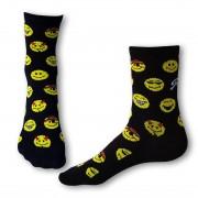 Styx Ponožky Styx crazy smajlíci (H329) XL