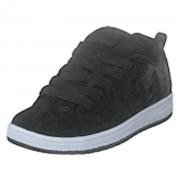 DC Shoes Court Graffik Black/white Print, Shoes, svart, EU 34