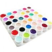 set geluri uv color 36 bucati pentru unghii false