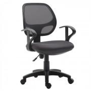 IDIMEX Chaise de bureau pour enfant COOL, gris
