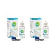 Solunate Multi-Purpose 2 x 50 ml med linsetuier travel pack