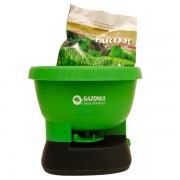 Aplicator electric seminte si ingrasaminte gazon Easy Drop, 2,7 litri+ ingrasamant cadou