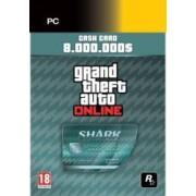 Grand Theft Auto V + Megalodon Cash Card PC Social Club Code