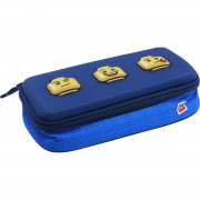 LEGO® bags LEGO Faces Blue pouzdro 3D