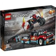 LEGO 42106 LEGO Technic Stuntuppvisning & Motorcykel