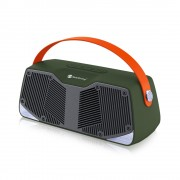 NR4021 Portable TWS Connection 10W Stereo Surround Bluetooth TV Speaker with Mic - Green