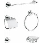 Set accesorii de baie Grohe Essentials Crom