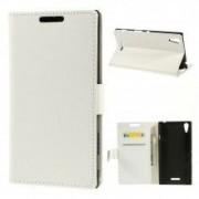 Capa Tipo Agenda Branca para Sony Xperia T3