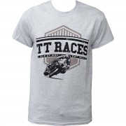 Tourist Trophy T-Shirt Isle of Man TT Races grau XXL grau