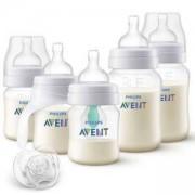 Комплект за новородено Philips-Avent Classic Anti-colic AirFree, PP, 0766632