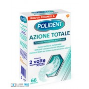 GLAXOSMITHKLINE C.HEALTH.SpA POLIDENT AZIONE TOTALE 66 COMPRESSE