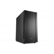 Carcasa S25-S, MiddleTower, Fara sursa, Negru