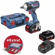 Bosch Professional GDS 18V-EC-250+68AS LiIon Akumulator 0615990K27