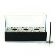 Biochimenea decorativa Stone black 45x21