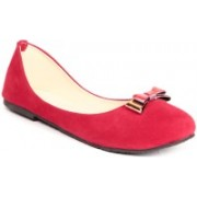 Ignis bow buckle Bellies For Women(Red)