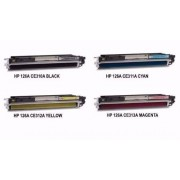 HP Conjunto de Toners Compatíveis HP CE310A/CE311A/CE312A/CE313A nº126A
